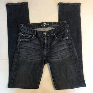 7 For All Mankind Kimmie StraightLeg Jeans size 25